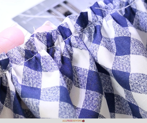 How to Gather Fabric Video