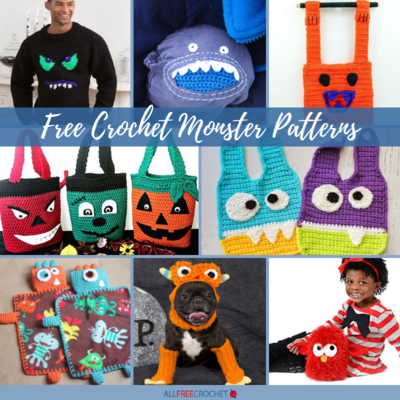 34+ Free Crochet Monster Patterns