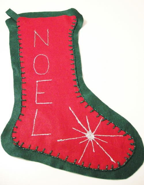 Super Easy Felt Stocking