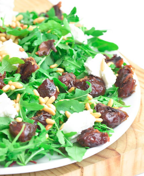 To Die For Fried Date and Goat Cheese Salad