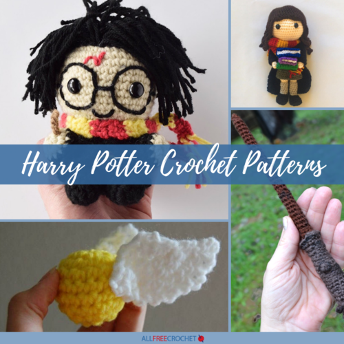 12 Harry Potter Crochet Patterns Free Allfreecrochetcom