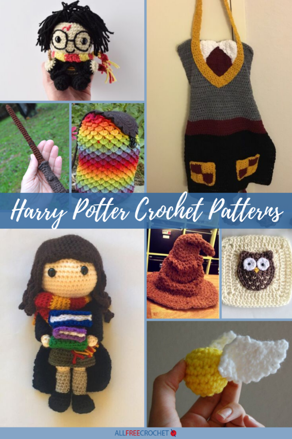 12 Harry Potter Crochet Patterns (Free!) |