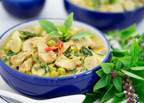 Thai Green Curry with Beef (Gaeng Keow Wan)