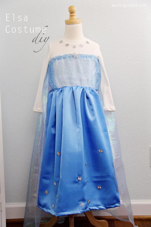 Upcycler's Dream DIY Elsa Dress