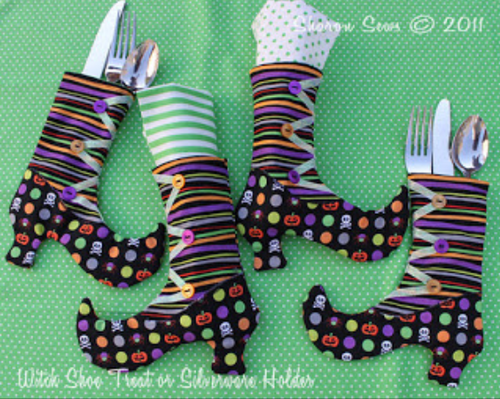 Witch Shoe Treat Bags