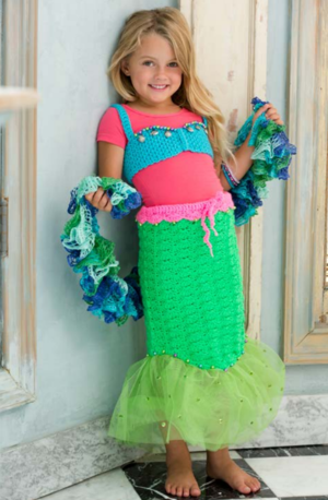 Petite Mermaid Costume