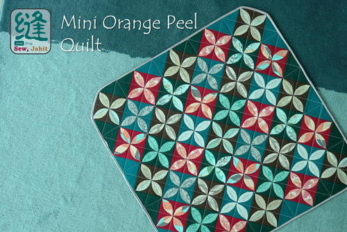 Mini Orange Peel Quilt