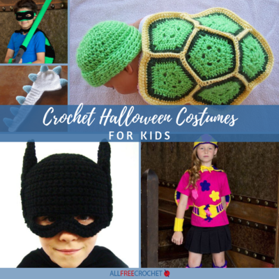 18 Crochet Halloween Costumes for Kids