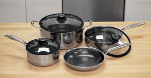 Black Cube 7-Piece Non-Stick Cookware Set Giveaway