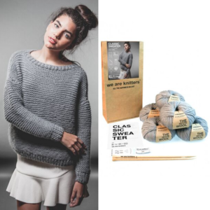 Classic Sweater Complete Knitting Kit Giveaway