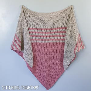 Tela Crochet Triangle Shawl
