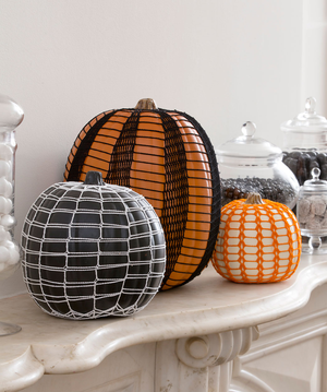 Haunting Lace Pumpkins