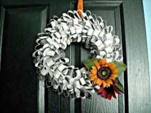 Pretty Paper Wreath