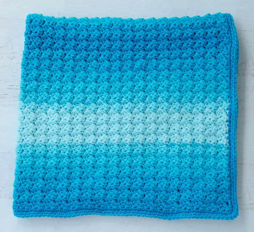 Sedge Stitch Baby Afghan
