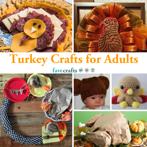 Turkey Crafts for Adults