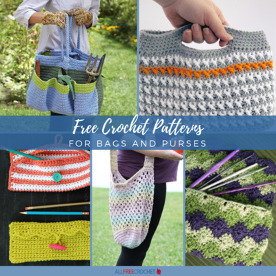 23 Free Crochet Patterns for Bags and Purses