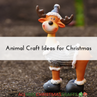 23 Animal Craft Ideas for Christmas