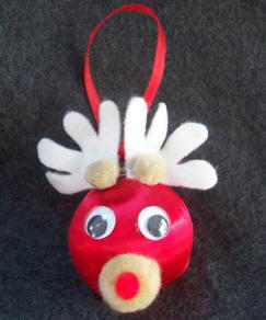 Whimsical Reindeer Ornament