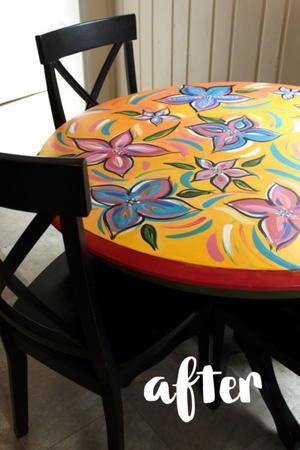 Kitchen Table Makeover Idea Diyideacenter Com