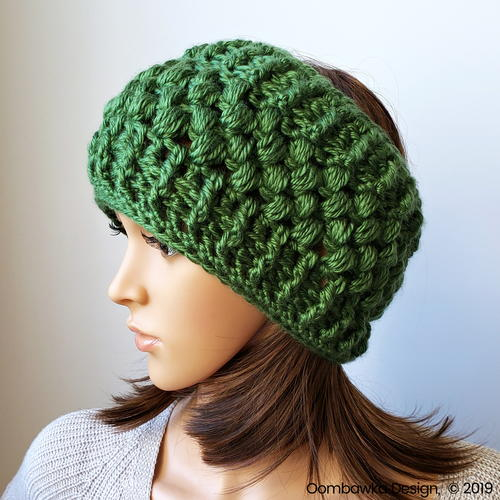 Verna Puff Stitch Ear Warmer