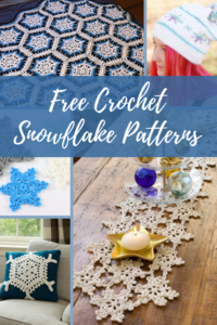75 Free Crochet Snowflake Patterns + Ornaments