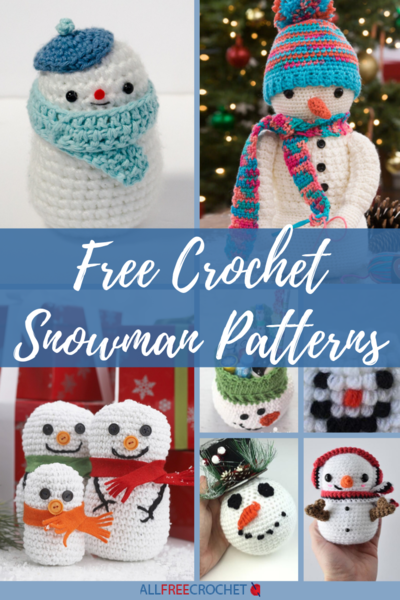 Free Crochet Snowman Patterns