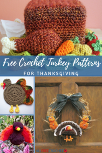 15 Free Crochet Turkey Patterns for Thanksgiving