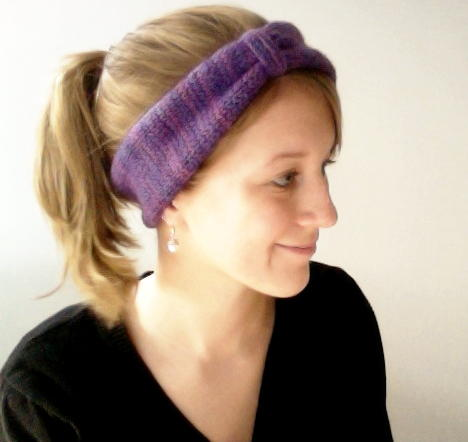 Urban Ear Warmer Knockoff Free Knitting Pattern