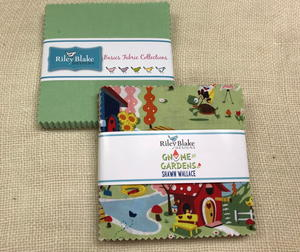 Riley Blake Gnomes and Gardens Fabric Stacker Set Giveaway