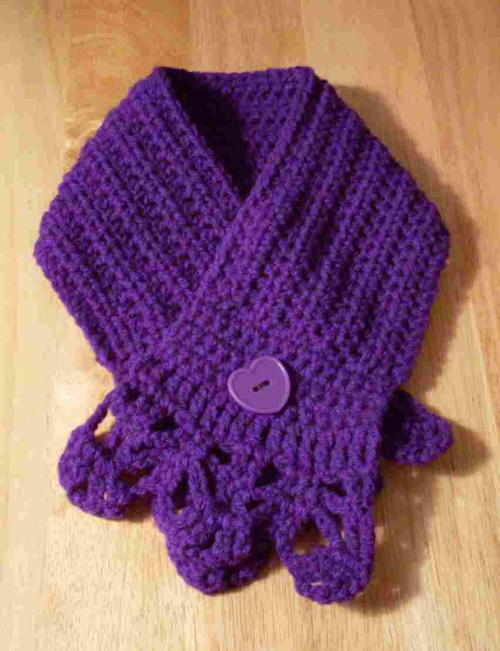 Gemstone Warmth Scarf