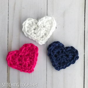 Quick Crochet Hearts
