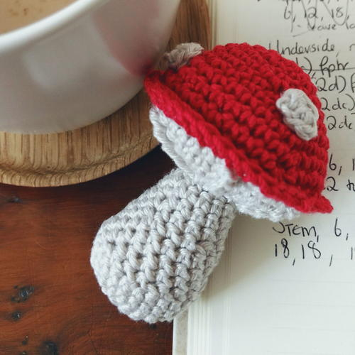 Toadstool Christmas Ornament