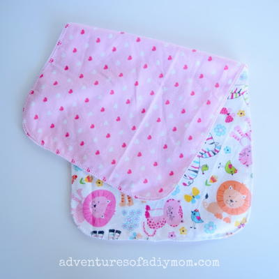 Super Easy Burp Cloths