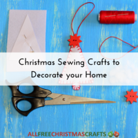 32 Christmas Sewing Crafts to Decorate your Home