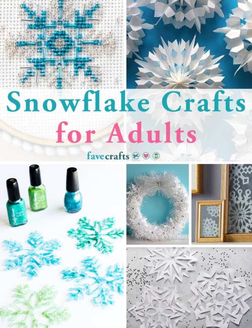Snowflake Crafts for Adults