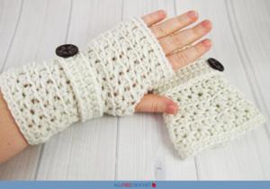 50 Cute Crochet Fingerless Gloves Free Patterns Allfreecrochet Com