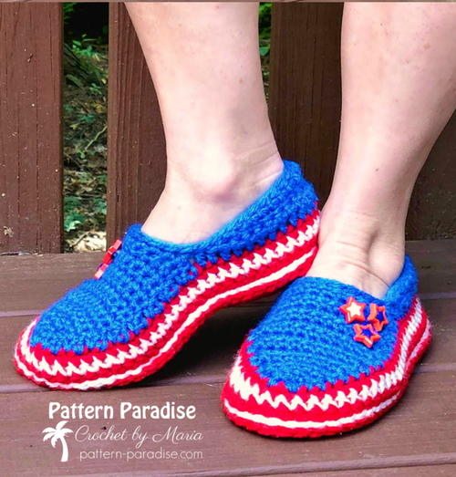 Stars & Stripes Slippers