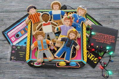 Stranger Things Cookies