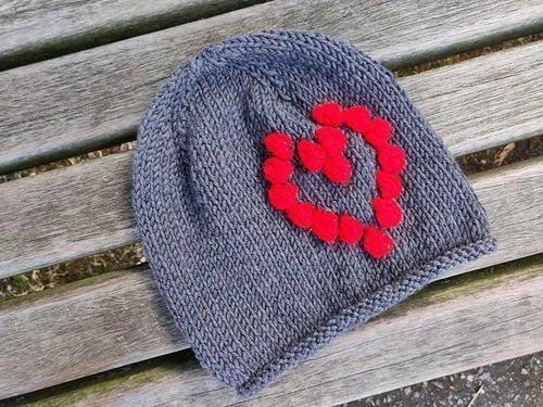 Red Heart Baby Beanie