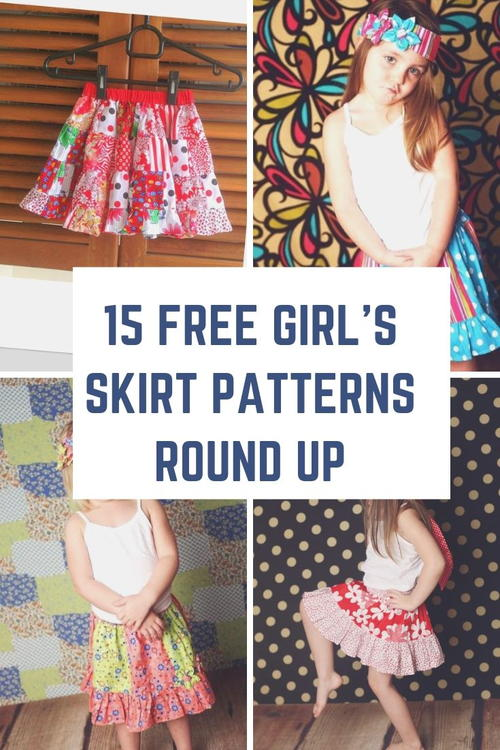 Free Girl's Skirt Patterns Round Up