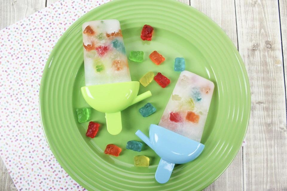 Gummy Bear Popsicles AllFreeKidsCrafts