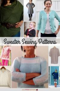 35+ Sweater Sewing Patterns