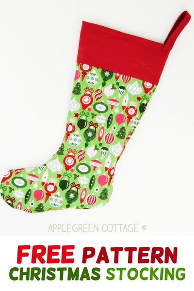 The Best Christmas Stocking Pattern