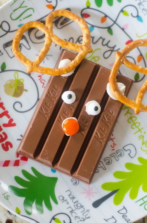 Kit Kat Reindeer Treat
