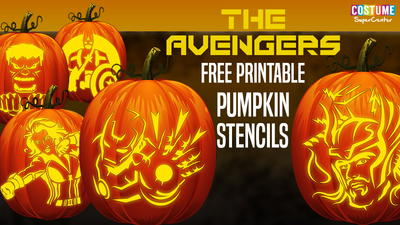 9 Free Pumpkibn Carving Stencils