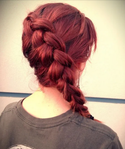 Simple DIY Katniss Braid