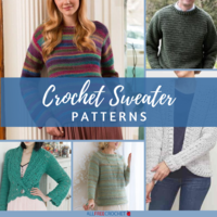 35+ Crochet Sweater Patterns