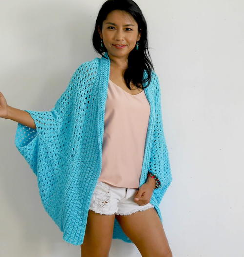 Blue Lagoon Easy Cardigan