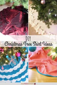20 DIY Christmas Tree Skirt Ideas