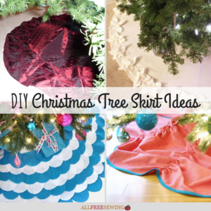 Free Sewing Patterns For Christmas Tree Skirts Allfreesewing Com